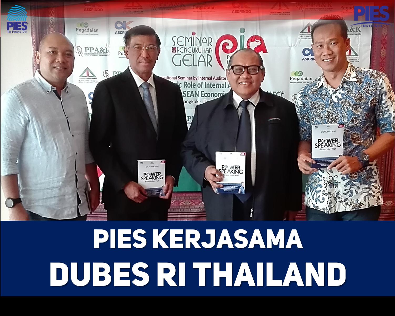 pies kerjasama dubes RI Thailand
