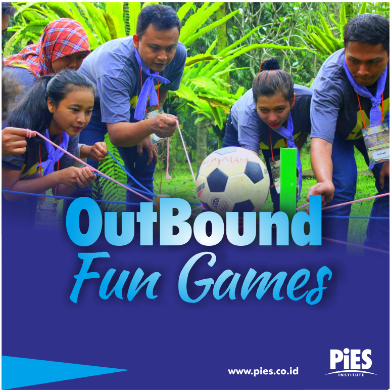 training pies outbound fun games