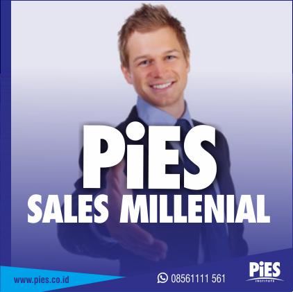 training pies sales millenial